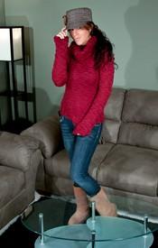 Bella Red Sweater