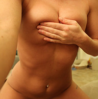 Freckles 18 Nude Sheer Teddy Aside Pussy Tease - Picture 11