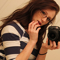 Freckles Gets Frisky In The Bathroom Wearing A Cute Tee And Jeans - Picture 4