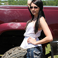Freckles Is A Dirty Little Slut For All The Boys In Lifted Trucks - Picture 1