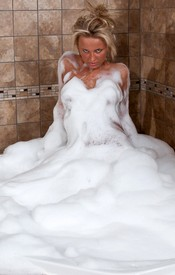 That Kendra Is A Dirty Girl And She Needs A Good Cleaning In A Bubble Bath - Picture 1