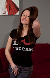 Busty Babe Kendra Loves Chicago - Picture 3