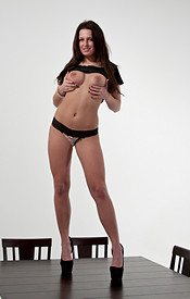 Kendra Rain Rips Off Her Shirt And Shows You Those Big Cans - Picture 9