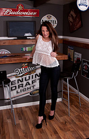 Kendra Is Ready To Kick Off The New Year Right. Dark Hair, Banging Body And Tight Tight Tight Tight Jeans - Picture 3