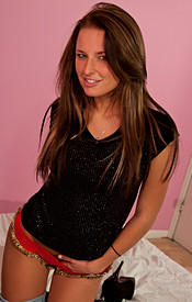 Kendra Rain Shows Off Her Hot Teen Ass And Natural C Cup Breasts - Picture 9