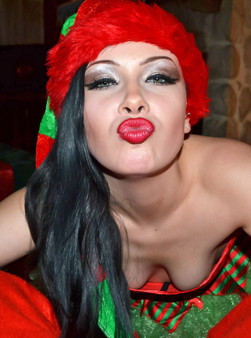 Merry Christmas From The Naughty Elf Sabrina Sins - Picture 7