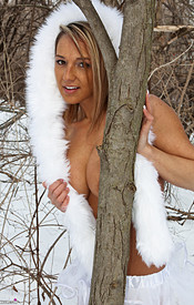Nikki Is So Hot In Her Snow Wolf Outfit She Can Melt All The Snow - Picture 10
