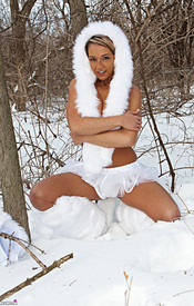 Nikki Is So Hot In Her Snow Wolf Outfit She Can Melt All The Snow - Picture 13