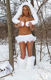 Nikki Is So Hot In Her Snow Wolf Outfit She Can Melt All The Snow - Picture 7