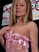 Meet Madden Pink Sheer Baby Doll